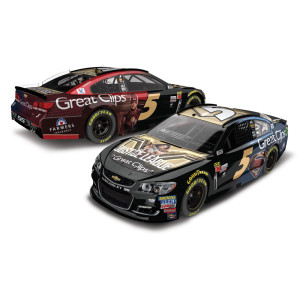 Kasey Kahne 2017 NASCAR Cup Series No. 5 Great Clips Justice League 1:24 Die-Cast