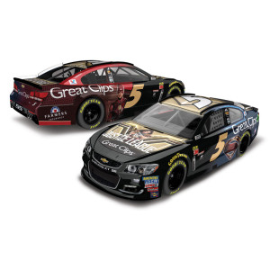 Kasey Kahne 2017 NASCAR Cup Series No. 5 Great Clips Justice League 1:64 Die-Cast
