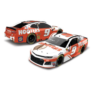 Chase Elliott 2018 NASCAR Cup Series No. 9 Hooters HO 1:24 Die-Cast