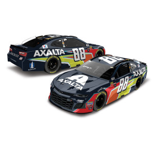 AUTOGRAPHED Alex Bowman 2018 NASCAR Cup Series No. 88 Axalta ELITE 1:24 Die-Cast