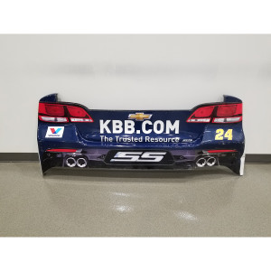 Chase Elliott 2017 #24 Kelley Blue Book Rear Bumper – Race Unknown