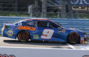 Chase Elliott First Cup Series Win HO 1:24 Die-Cast