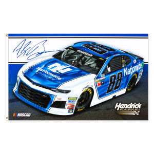 Alex Bowman #88 2018 NASCAR 2-sided Flag - 3' x 5'