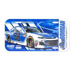 Alex Bowman #88 2018 NASCAR License Plate