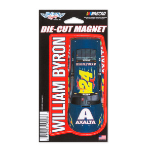 "William Byron #24 2018 NASCAR Die-Cut Magnet - 3"" x 5.4"""