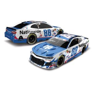 Alex Bowman 2018 NASCAR No. 88 Nationwide Patriotic HO 1:24 Die-Cast