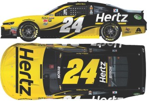 William Byron 2018 NASCAR No. 24 Hertz ELITE 1:24 Die-Cast