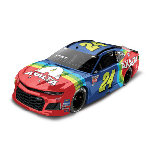William Byron 2018 NASCAR No. 24 Axalta Throwback ELITE 1:24 Die-Cast