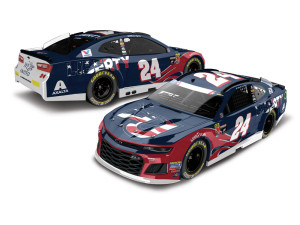 William Byron 2018 NASCAR No. 24 Liberty University Patriotic HO 1:24 Die-Cast