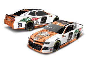 Chase Elliott 2018 NASCAR No. 9 Mountain Dew / Little Caesars ELITE 1:24 Die-Cast
