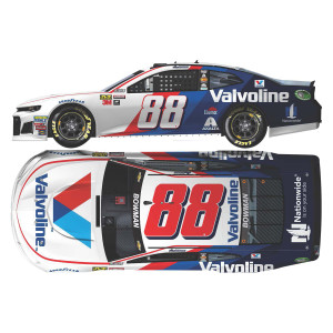 Alex Bowman 2018 NASCAR No. 88 Valvoline ELITE 1:24 Die-Cast