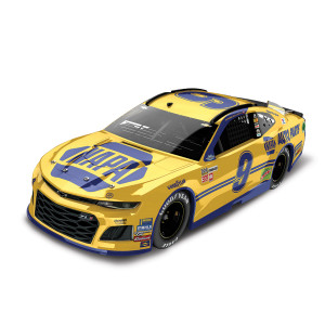 Chase Elliott 2018 NASCAR No. 9 NAPA Throwback Darlington ELITE 1:24 Die-Cast