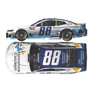 Alex Bowman 2018 NASCAR No. 88 Nationwide Children's Hospital ELITE 1:24 Die-Cast