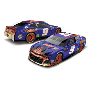 Chase Elliott 2018 NASCAR No. 9 SunEnergy1 Blue 1:64 Die-Cast