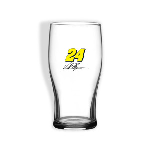 William Byron #24 Pub Glass