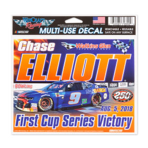 Chase Elliott #9 2018 NASCAR First Win Multi Use Decal