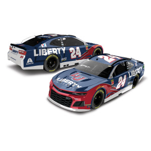 William Byron 2019 #24 Liberty University HO 1:24 - Die Cast