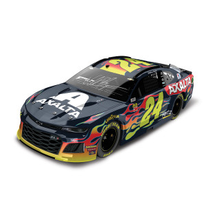 Autographed William Byron #24 2019 Axalta Elite 1:24 - Die Cast