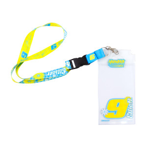 #9 NASCAR Chase Elliott Credential Holder With Lanyard