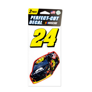 #24 NASCAR William Byron Perfect Cut Decal (Set of Two)