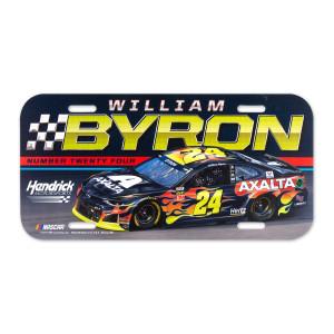 #24 NASCAR William Byron License Plate