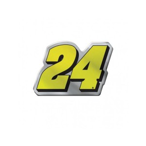 #24 NASCAR William Byron Acrylic Auto Emblem