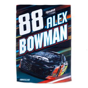 #88 NASCAR Alex Bowman 2 Sided Garden Flag