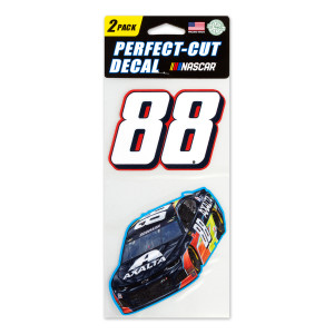 #88 NASCAR Alex Bowman Perfect Cut Decal (Set of Two)