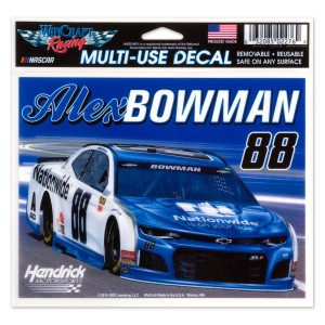 #88 NASCAR Alex Bowman Multi-Use Decal