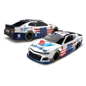 Alex Bowman 2019 #88 Valvoline Patriotic Elite 1:24 Die-cast