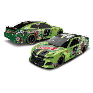 Chase Elliott 2019 #9 - Mountain Dew -  DewNited States HO 1:24 Die-cast
