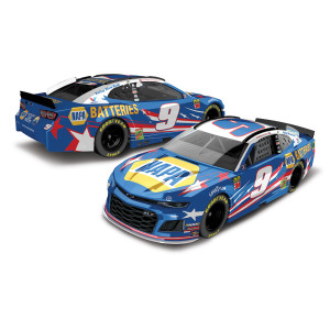 Chase Elliott 2019 #9 NAPA Batteries Patriotic 1:64 Die-cast