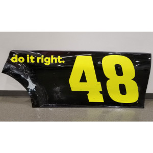 Jimmie Johnson 2019 Ally Door/Qtr Panel – Race Unknown