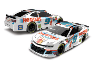 Chase Elliott #9 2019 Hooters Spirits NASCAR 1:24 ELITE - Die Cast