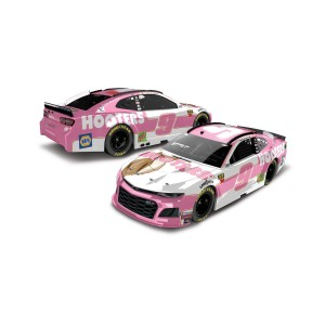 """Chase Elliott #9 2019 Hooter's """"Give A Hoot"""" Chevrolet NASCAR HO 1:24 - Die Cast"""