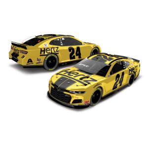 William Byron #24 2020 Hertz Chevrolet Camaro NASCAR Elite 1:24 - Die Cast
