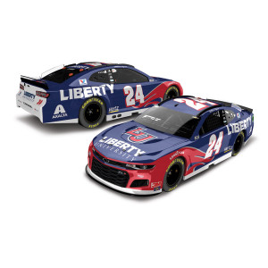 William Byron #24 2020 Liberty University NASCAR Elite 1:24 - Die Cast
