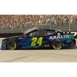 William Byron #24 2020 Axalta Bristol Motor Speedway iRacing WIN e-NASCAR Elite 1:24 - Die Cast