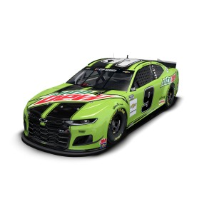 Chase Elliott No. 9 Mountain Dew Chevrolet Camaro 1:24 HO Die-Cast