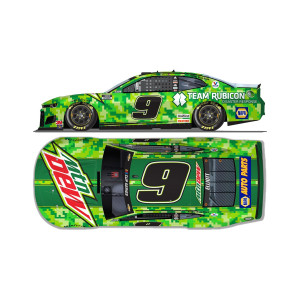 Chase Elliott No. 9 Mountain Dew Team Rubicon 1:24 HO Die-Cast