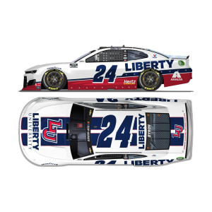 William Byron No. 24 Liberty University Chevrolet 1:24 ELITE Die-Cast