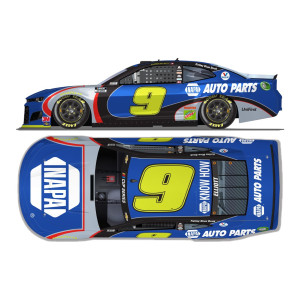 Chase Elliott No.9 NAPA Throwback 1:24 ELITE Die-Cast