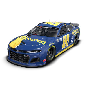 Alex Bowman No. 88 Planters Chevrolet 1:24 ELITE Die-Cast