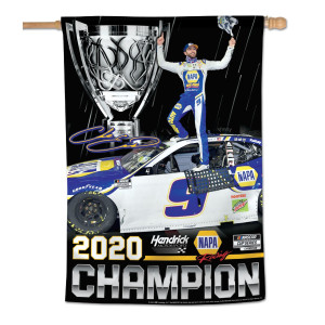 "NASCAR 2020 Champion Banner 28"" x 40"" - 1-sided"