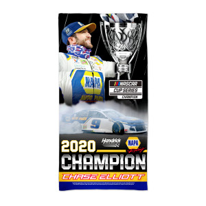 "NASCAR 2020 Champion Beach Towel 30"" x 60"""