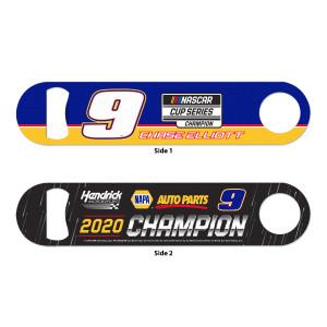 NASCAR 2020 Champion Bottle Opener - Metal