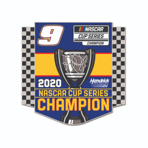 NASCAR 2020 Champion Cloisonne Pin with Hard Insert
