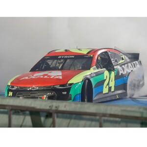 Autographed William Byron 2021 NASCAR Dixie Vodka 400 Winner 1:24 ELITE Die-Cast