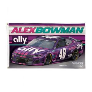 Alex Bowman Deluxe Flag - 3' x 5'