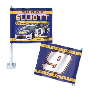 "Chase ElliottCar Flag - 11.75"" x 14"""